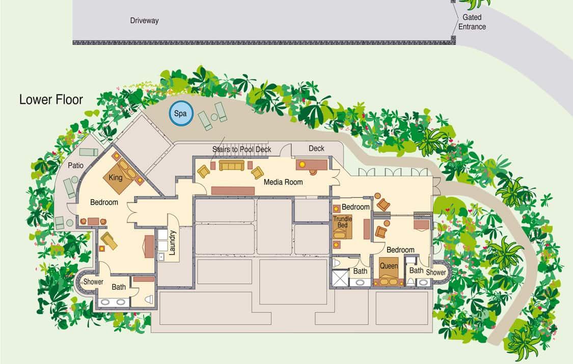 Family vacation rental st john virgin islands oceana vill st oceana villa st john vacation home virgin islands lower floor baanklon Choice Image